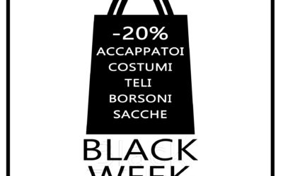 BLACK WEEK MATERIALE SPORTIVO SCONTATO